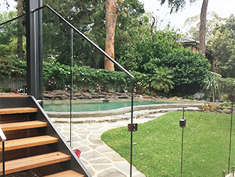 Glass Stair Balustrades – Sydney