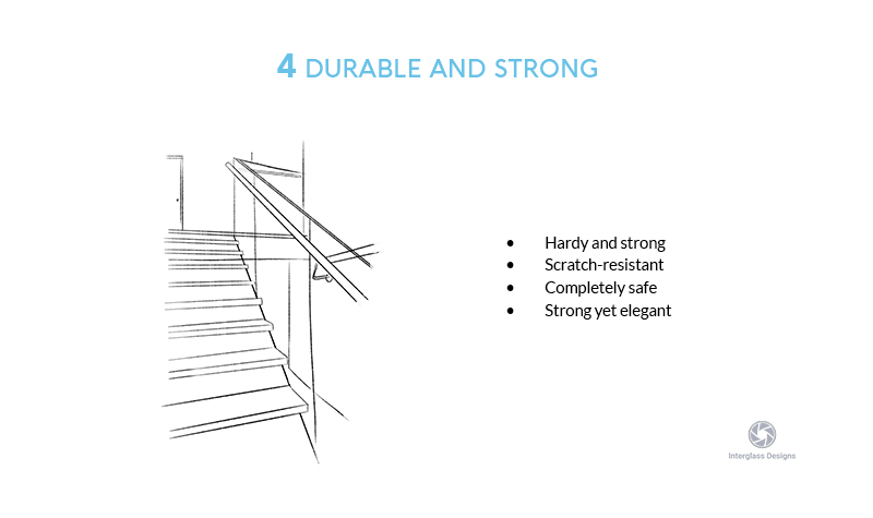 durable and strong glass balustrades